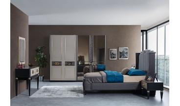 Gold Art Deco Yatak Odası Takımı