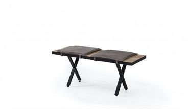 Rover Masa + 4 Sandalye + Bench
