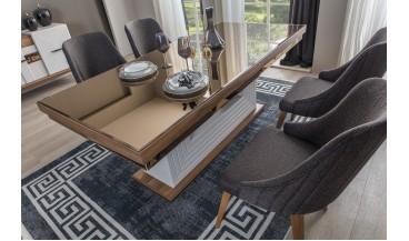 Perla Masa + 6 Sandalye