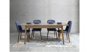 Floria Masa + 6 Sandalye