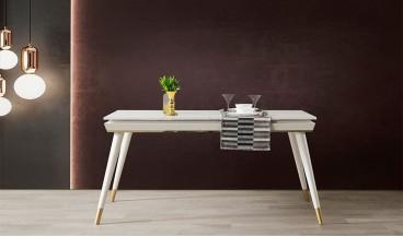 İnci Masa + 6 Sandalye