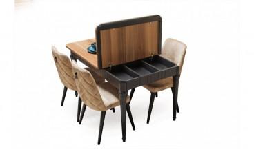 Okyanus Masa + 6 Sandalye