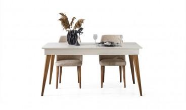 Sedef Masa + 6 Sandalye