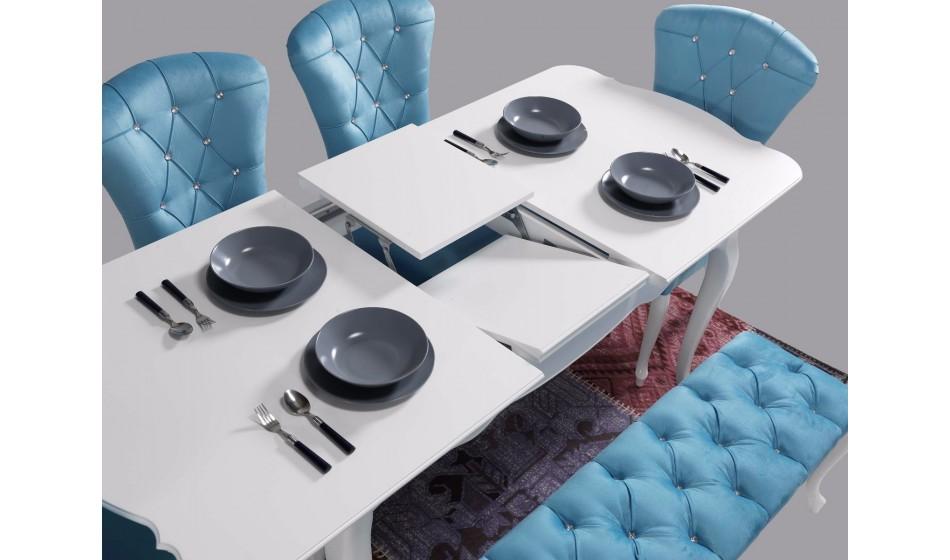 Kuğu Yemek Odası Takımı