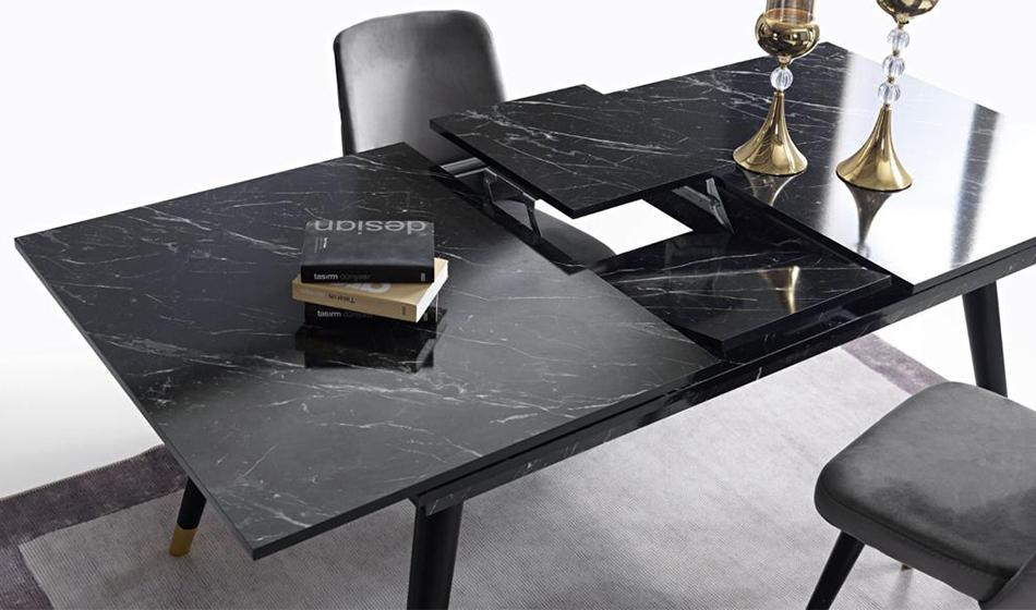 Granit Yaşam Odası (Siyah)