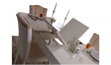 Taç Masa + 6 Sandalye