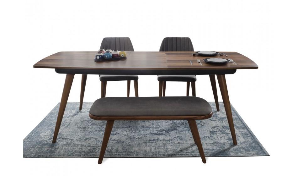 Gucci  Masa + 4 Sandalye + Benç