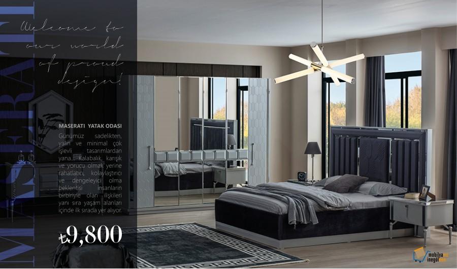 Maserati Yatak Odası